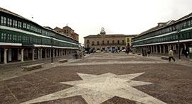 Fotografía de la Plaza Mayor de Almagro