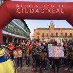 San Silvestre en Almagro: mas de 400 atletas protagonizan una divertida carrera