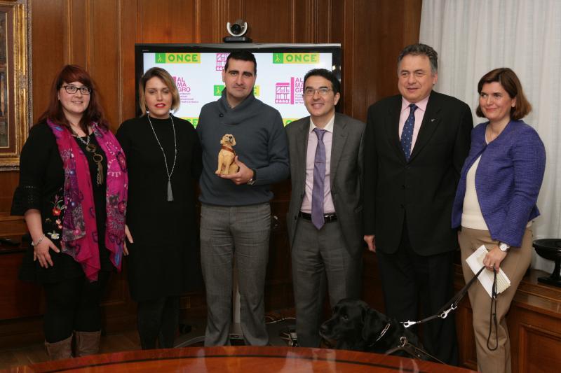 El Festival Internacional de Teatro Clásico y la ONCE firman un convenio