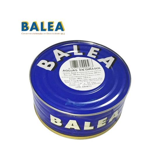 Lote Conservas Balea (Agujas 1Kg, Sardinas 1Kg y Mejillones 30/40 500grs.)