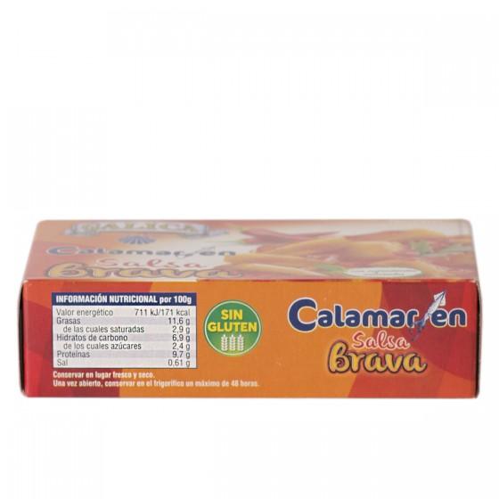 Calamares en Salsa Brava 120grs. Galica