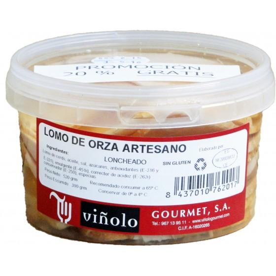 Lomo de Orza Artesano loncheado 500grs