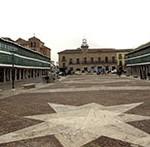 Plaza de Almagro: Una de las más espectaculares de España.