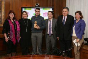 Almagro y la ONCE firman un convenio para hacer que el festival sea una cita cultural inclusiva y accesible